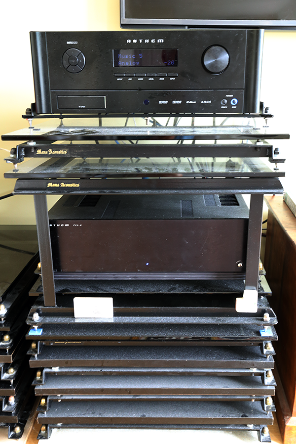AV systems supported by a Mana Sound systems to create the Mana sound