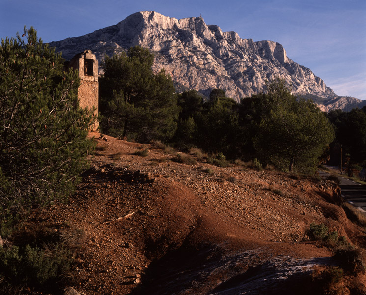 St Victoire from shrine
