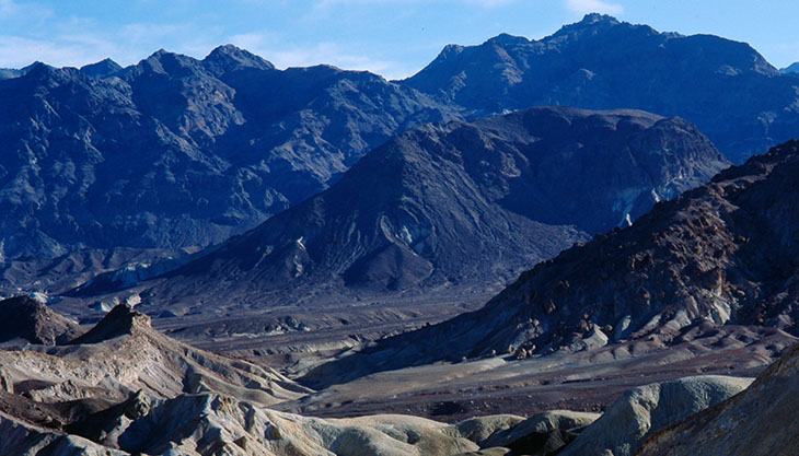 Death Valley, USA.  Copyright (c) Adrian Cowderoy, 1998. (Picture selection inspired by introverted thinking.)