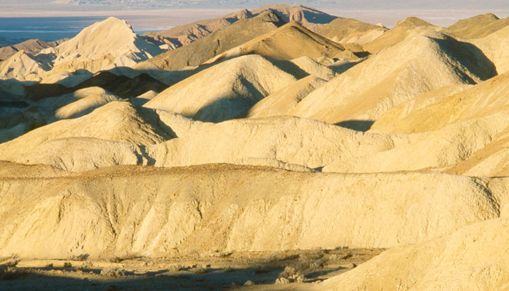Death Valley, USA - a reminder of the challenges for intelligence research specialists